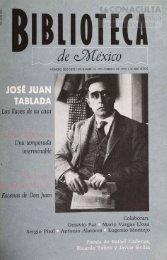 de José Juan Tablada - Dirección General de Bibliotecas - Consejo ...