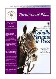 Peruano de Paso - asociacion nacional de criadores y propietarios ...