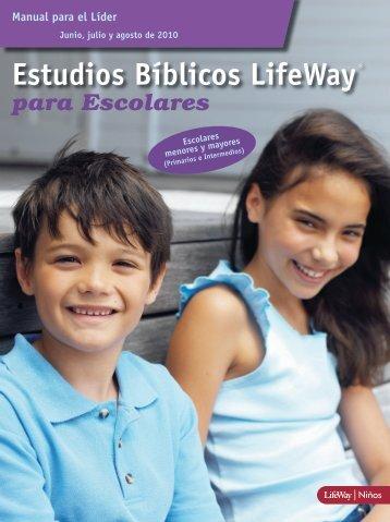 Estudios Bíblicos LifeWay para Escolares - Manual para el Líder ...
