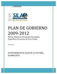 PLAN DE GOBIERNO 2009-2012 - Silao