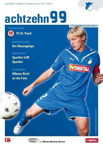 FC St. Pauli Die Neuzugänge Sportler trifft ... - 1899 Hoffenheim