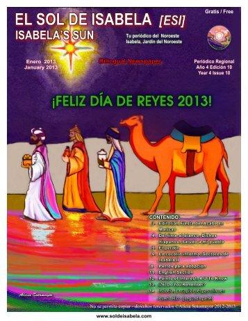 Edición Enero/ Janurary 2013 - Sol de Isabela