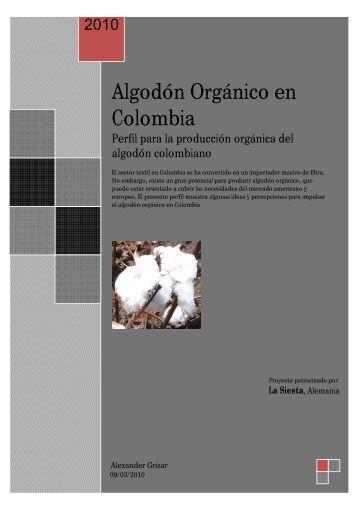 Algodón Orgánico en Colombia - SOCiLA