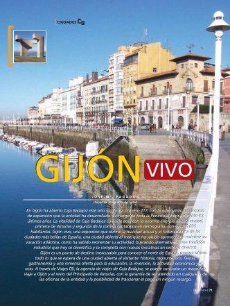 Gijón vivo - Caja de Badajoz