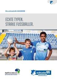 ECHTE TYPEN. STARKE FUSSBALLER. - 1899 Hoffenheim