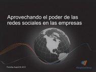 Aprovechando el poder de las redes sociales en ... - asrehuver.com