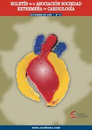 Revista N 13 - Sociedad Extremeña de Cardiología
