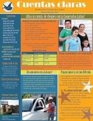 Cuentas claras Nov 2012 - Latino Community Credit Union