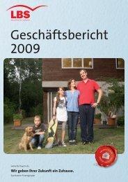 Geschäftsbericht 2009 - LBS