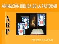 ANIMACIÓN BÍBLICA DE LA PASTORAL ABP - Início
