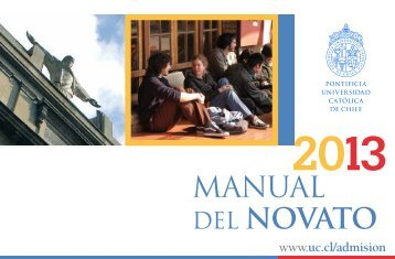 MANUAL DEL NOVATO - Pontificia Universidad Católica de Chile
