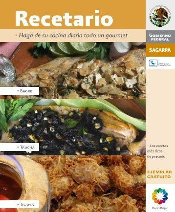 Recetario - Sagarpa