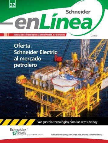 """Revista """"Schneider enLínea"""" Abril 2006 - Schneider Electric"""