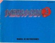 Manual Megaman 3 - Manuales de videojuegos