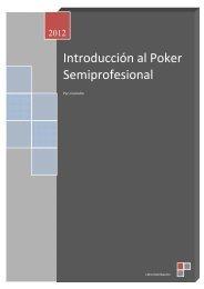 Introducción al poker semiprofesional - pokernotecallas
