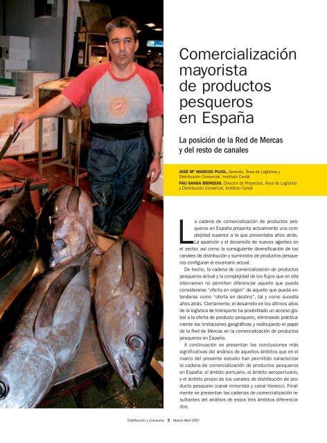 Comercialización mayorista de productos pesqueros en ... - Mercasa