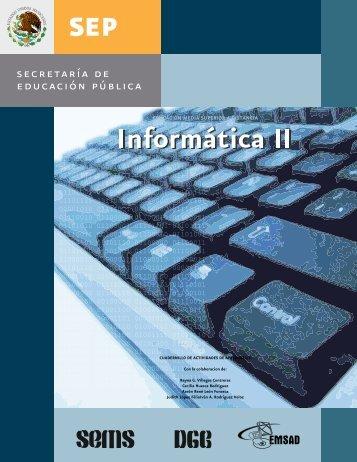 libro de informatica 2 - Webnode