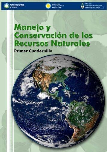 Manejo y conservacion de los Recursos Naturales - Secretaria de ...