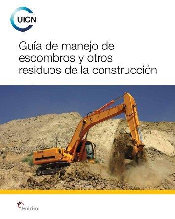 Guía de manejo de escombros y otros residuos de la ... - IUCN