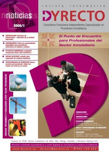 Descargue aquí el contenido íntegro de la Revista Dyrecto 2006