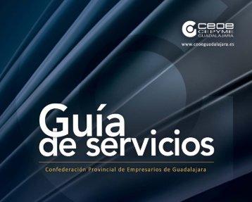 Guía de Servicios 2013 - CEOE CEPYME Guadalajara
