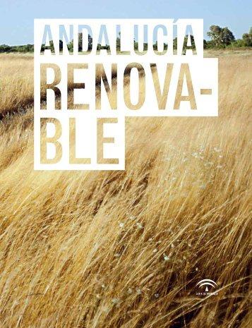 Andalucía renovable (9.98 MB) - Agencia Andaluza de la Energía
