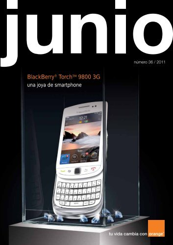 BlackBerry® TorchTM 9800 3G - Acerca de Orange