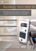 BlackBerry® TorchTM 9800 3G - Acerca de Orange - Page 6