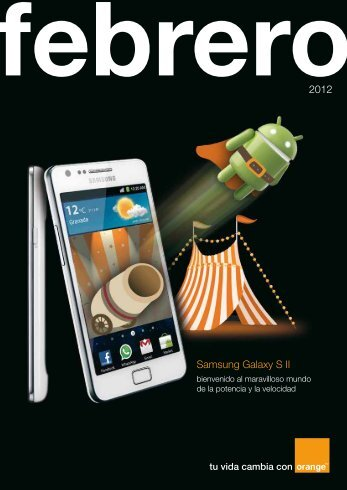 Samsung Galaxy S II 2012 - Acerca de Orange