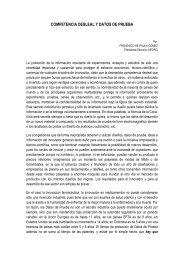 COMPETENCIA DESLEAL Y DATOS DE PRUEBA - Afidro