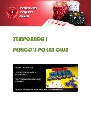 TEMPORADA 1 PERICO'S POKER CLUB - Solanillos.com