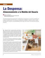 Muebles La Despensa - Revista El Mueble y La Madera