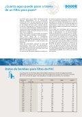 Filtro para pozo de agua y sistemas de revestimiento - Page 7