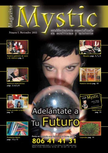 Desacarga Revista número 1 - Gabinete Mystic