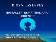 DIOS Y LA LEY - Monografias.com