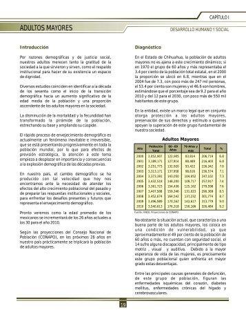 adultos mayores - Gobierno del Estado de Chihuahua