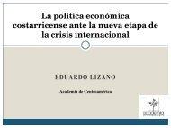 La política económica costarricense ante la nueva etapa de la crisis ...