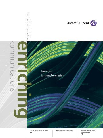 Navegar la transformación - Alcatel-Lucent