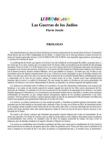 Flavio Josefo - Las Guerras de los Judios.pdf - Historia de Costa Rica