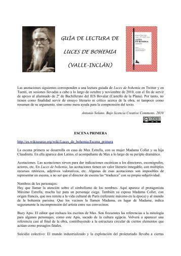 Luces de bohemia editorial di logo - Luces de lectura ...
