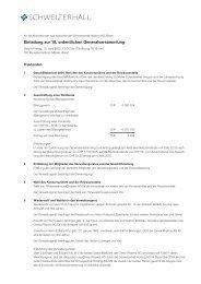 -Schweizerhall Einladung GV 05 - Acino