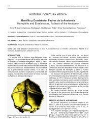 HISTORIA Y CULTURA MÉDICA Herófilo y Erasístrato, Padres de la ...