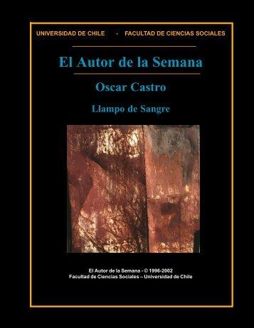 Oscar Castro - Universidad de Chile