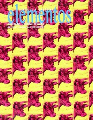 Número completo (11.2 Mb) - Revista Elementos - Benemérita ...