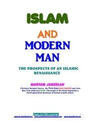 MARYAM JAMEELAH - Prophet Muhammad (SAW) for All