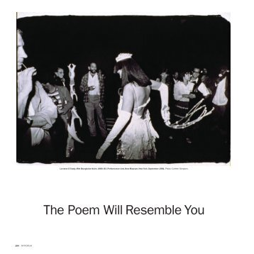 The Poem Will Resemble You - exhibit-E