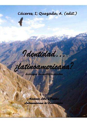 Libro Identidad latinoamericana - peidsa
