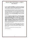 GRAN CIRCO MUNDIAL + CIRCO DE MOSCÚ Instalado junto a La ... - Page 4