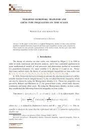 Weighted Ostrowski, trapezoid and Grüss type ... - Ele-Math