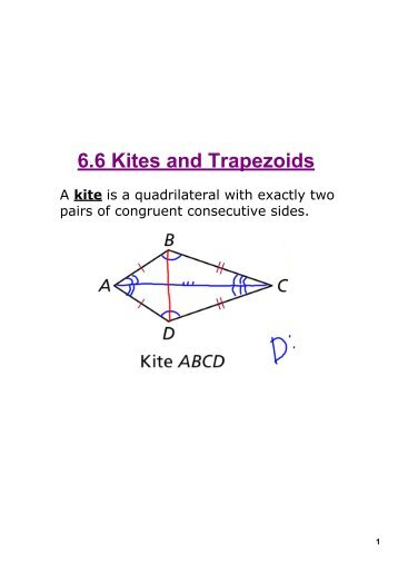 how to find the area of a kite geometry